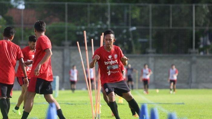 Jadwal Live Streaming Piala Menpora 2021, Winger Bali United Ini Optimis Liga 1 Kembali Bergulir