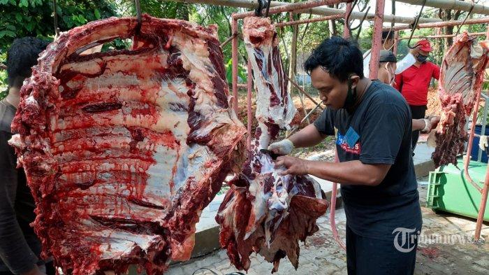 Idul Adha Tahun Ini Mabes TNI Sembelih 23 Ekor Sapi dan 7 Kambing/Domba