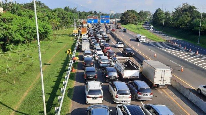 Jasa Marga Catat Kendaraan Meninggalkan Jakarta Mayoritas ke Arah Timur
