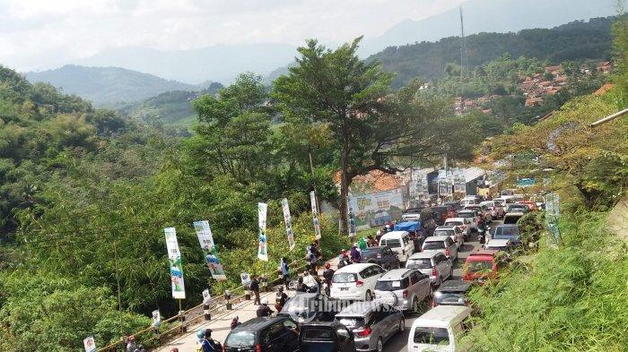 Ini Titik Kepadatan Volume Kendaraan di Tol Purbaleunyi Arah Jakarta