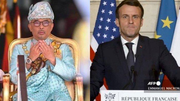 POPULER INTERNASIONAL Raja Malaysia Panggil Para Pemimpin Politik | Hukuman Penampar Emmanuel Macron