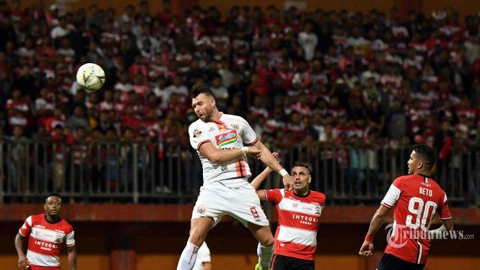 Prediksi Susunan Pemain Persija Jakarta vs Madura United, Farias Ingatkan Lawannya Harus Hati-hati