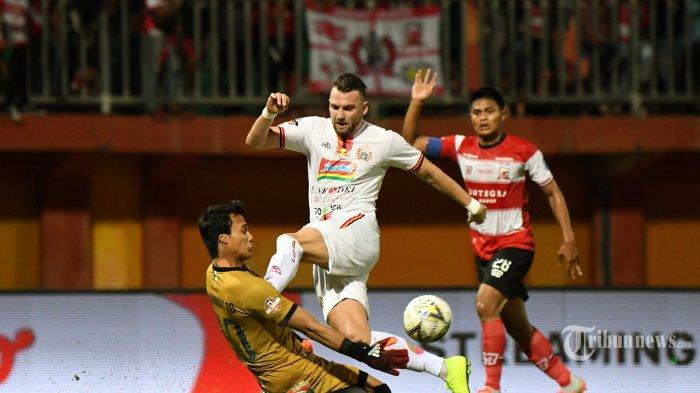 UPDATE Terkini Kondisi Kiper Madura United M Ridho, Usai Cedera Benturan Dengan Striker Spasojevic