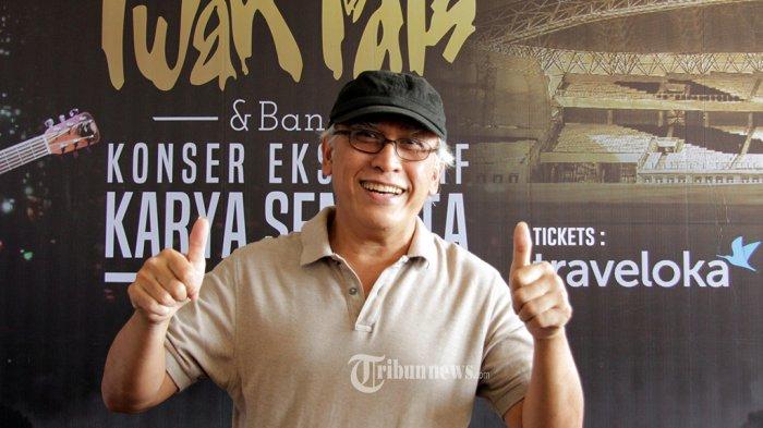 Iwan Fals Bawakan Lagu Bertema Lingkungan di Konser Karya Semesta