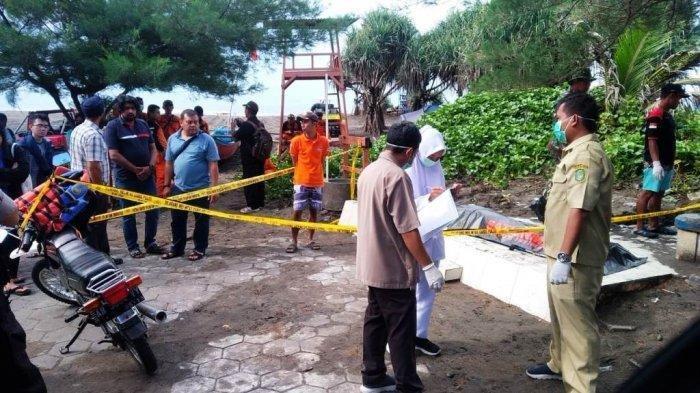 Tenggelam di Pantai Parangtritis, Jasad Jeven Samuel Ditemukan Mengapung di Laut
