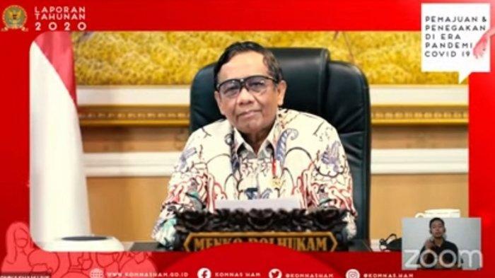 Mahfud MD Ajak Seluruh Pihak Bangun Kepercayaan kepada Komnas HAM