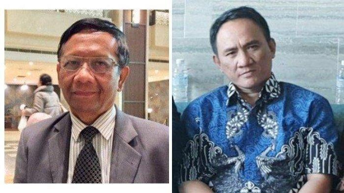 Balas Andi Arief, Mahfud MD: Kami Tak Pernah Bilang SBY-AHY Dalang Unjuk Rasa