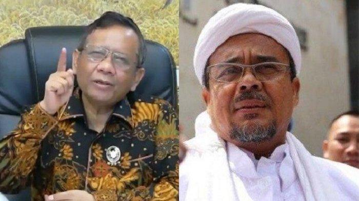 Demi Keselamatan Masyarakat, Mahfud MD Sarankan Habib Rizieq Penuhi Panggilan Polisi, Ini Kata FPI