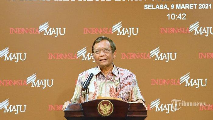 Tanggapi Isu Wacana Presiden 3 Periode, Mahfud MD Singgung Alasan Pembubaran Orde Baru