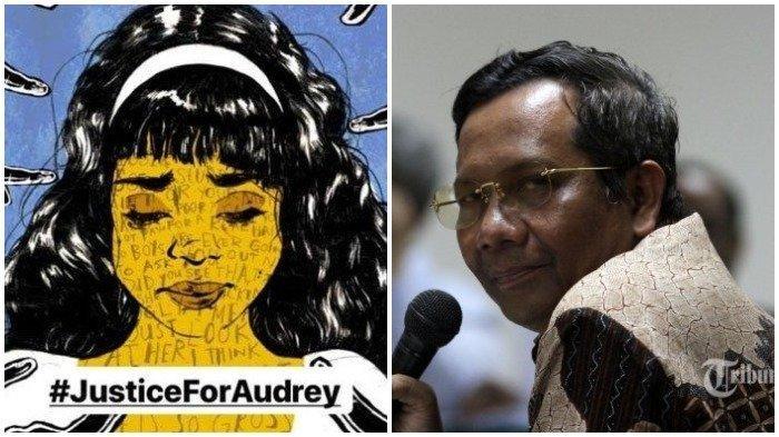 Kasus Audrey, Mahfud MD Bicara Soal Proses Hukum, Hotman Paris Minta Jokowi Turun Tangan
