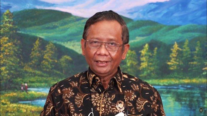 Pernyataan Menko Polhukam, Mahfud MD.