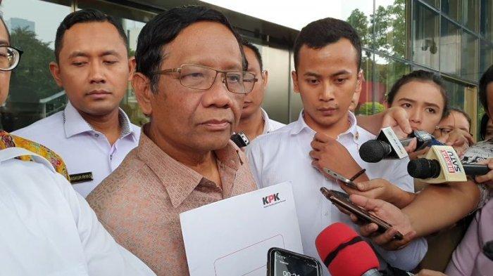 Bantah Jubir, Mahfud MD Sebut Jokowi Masih Pertimbangkan Terbitkan Perppu KPK