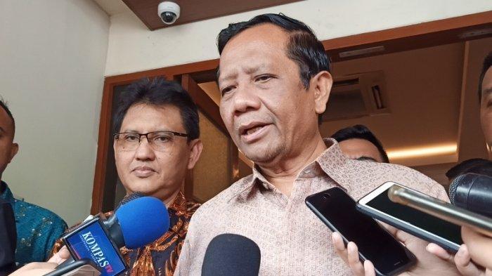 Mahfud MD Duga Pasal 170 Pada Draf RUU Omnibus Law Salah Ketik