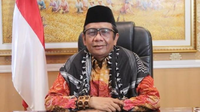 Menteri Koordinator Bidang Politik Hukum dan Keamanan Mahfud MD.