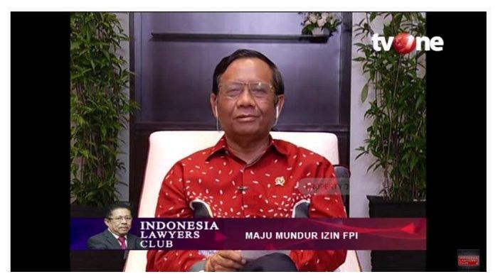 Selisih Pendapat dengan Fachrul Razi, Mahfud MD Sebut FPI Tak Bikin Surat Pernyataan Setia Pancasila