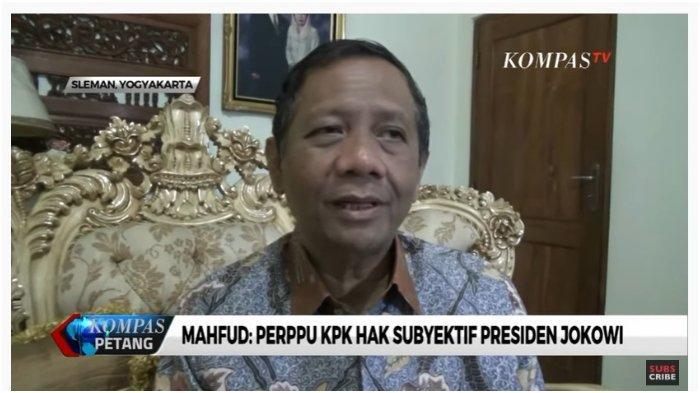 Mahfud MD Minta Mahasiswa yang Mau Demo Ubah Tuntutannya ke Presiden Jokowi, Ini Alasannya