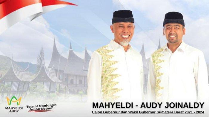 Hasil Pilgub Sumatera Barat 2020: 9 Wilayah 100%, Mahyeldi-Audy Mendominasi