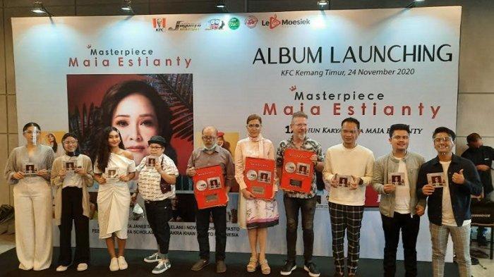 Rilis Album Masterpiece, Maia Estianty Cuma Duduk Manis Saat Proses Pengerjaan, Maklum Sudah Pensiun