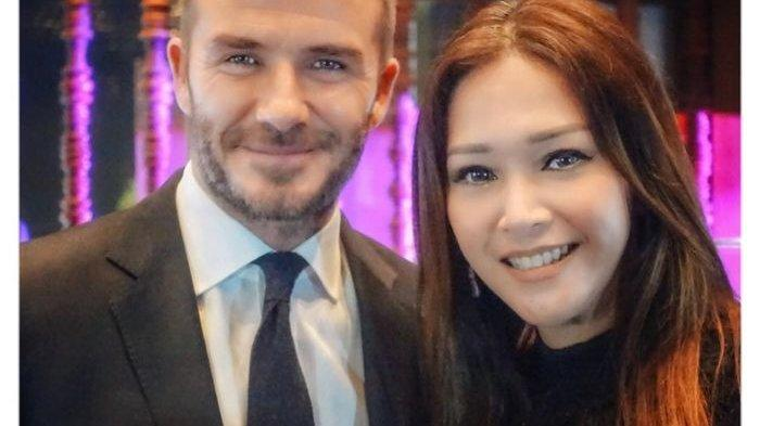8 Pesona Maia Estianty Bareng Sederet Artis Internasional, dari David Beckham hingga Pemeran 'Thor'