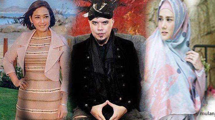 Ahmad Dhani dan Mulan Jameela Sepanggung di Indonesian Idol, Maia Estianty 'Menghilang', Kemana?