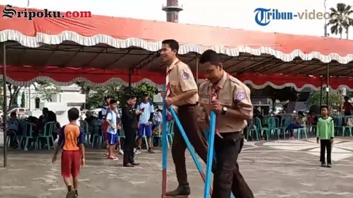 Melestarikan Permainan Tradisional Di Palembang Tribunnews Com Mobile