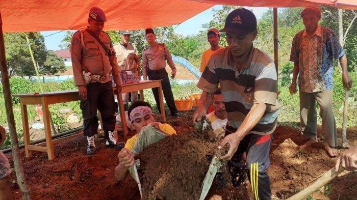 Tulang, Rahang dan Usus Korban Diserang Harimau Dimakamkan Setelah Proses Autopsi Selesai
