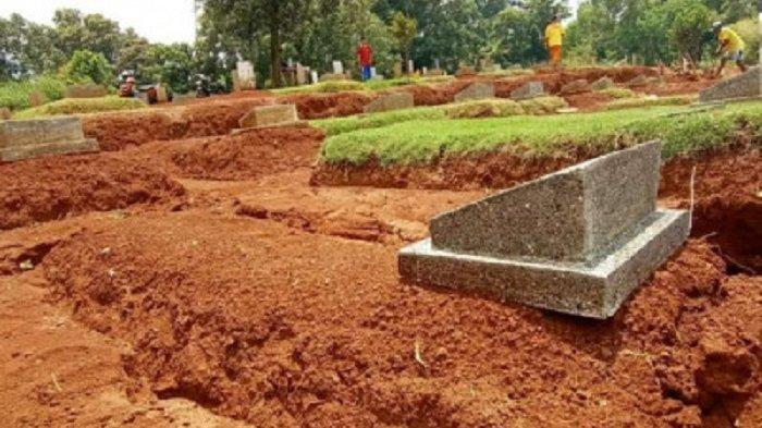 DLHK Kota Depok Ungkap Penyebab Amblasnya Belasan Makam Jenazah Covid-19 di TPU Tapos