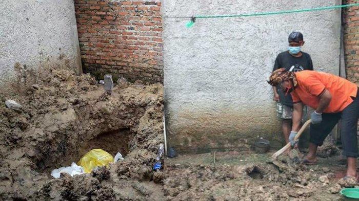 Ditemukan Kuburan Berisi Mayat Wanita Dibungkus Kain Sarung di Rumah Tukang Roti Penyekap Istri