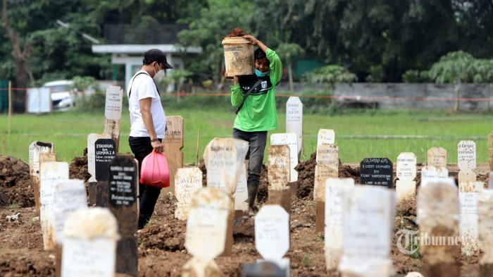 Kematian Covid-19 Pecah Rekor, 1.566 Kasus 23 Juli: Jateng Tertinggi, Berikut Sebaran di 34 Provinsi
