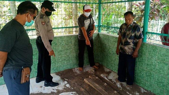 Polisi Selidiki Kasus Perusakan Makam Mantan Bupati Sekaligus Tokoh Pendiri Kabupaten Ngawi