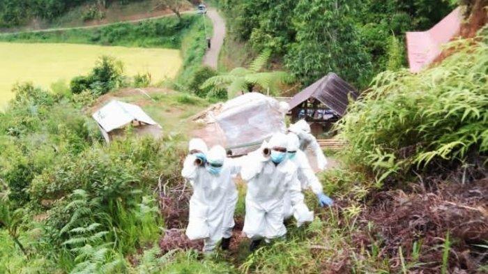 Angka Kematian Cetak Rekor 2.069 Orang, Jumlah Terkonfirmasi Covid-19 Masih Naik Turun