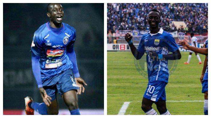 Makan Konate, Bertahan di Arema FC atau Kembali ke Persib Bandung