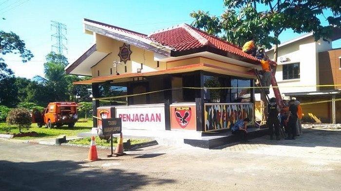 Polisi Buru Pelaku Penembakan Mako Brimob Purwokerto