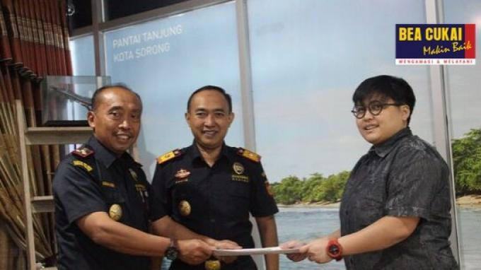 Maksimalkan Potensi Perikanan Kota Sorong, Bea Cukai Realisasikan Ekspor Perdana Mackerel
