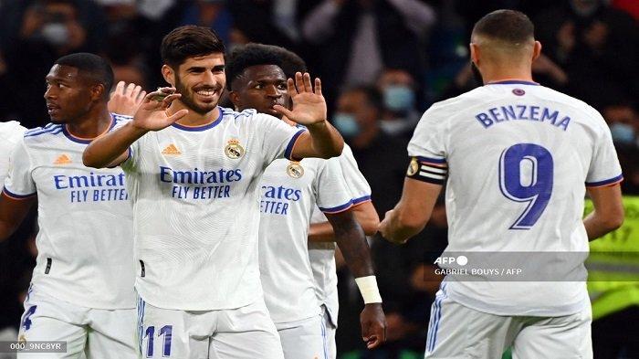 Marco Asensio Cetak Hattrick dan Karim Benzema Brace, Real Madrid Kuasai Klasemen Topskorer La Liga