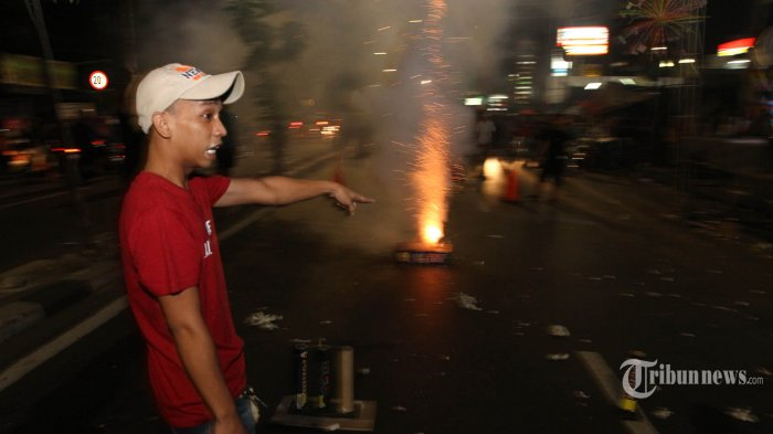 Polres Jakarta Pusat Larang Penggunaan Petasan saat Lebaran, Kecuali Kembang Api
