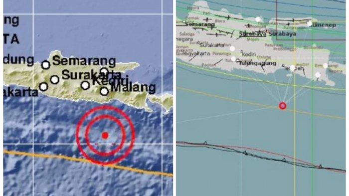 Gempa Hari Ini - BMKG Laporkan Malang Kembali Diguncang Gempa Sebanyak 3 Kali