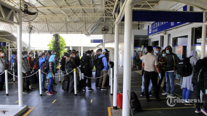 Kadisnaker Sumut: 13.922 TKI Telah Pulang ke Tanah Air Lewat Bandara Kualanamu Deli Serdang