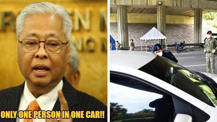 Malaysia memasuki fase kedua Movement Control Order (MCO). Pemerintah akan membatasi jumlah orang dalam mobil pribadi. Menteri Pertahanan Malaysia, Ismail Sabri mengatakan, orang boleh berpergian dengan mobil tapi hanya satu orang. Kebijakan tersebut akan efektif pada 1 April 2020 mendatang.