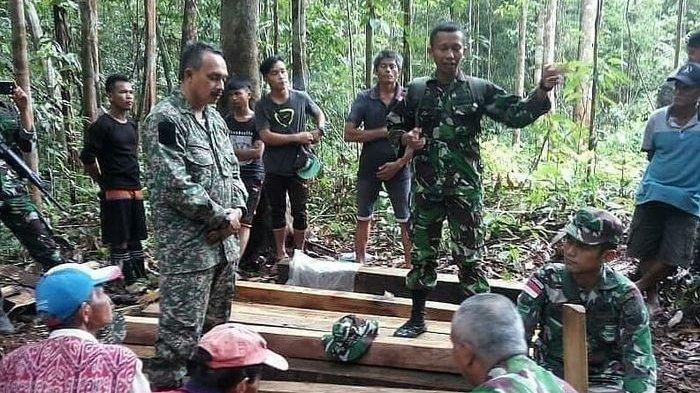 Warganya Curi Kayu Indonesia, Malaysia Berkilah dan Tuding TNI Lakukan Penculikan Serta Pemerasan