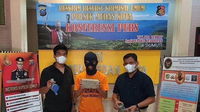 Polisi Tangkap Pemulung di Medan yang Curi Meteran Air Milik Warga