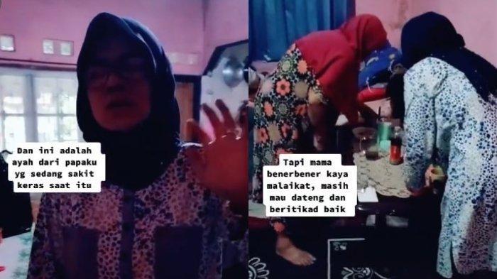 Viral Kisah Seorang Ibu yang Jenguk dan Rawat Mantan Mertua yang Sakit Meski Dulu Pernah Dicaci Maki