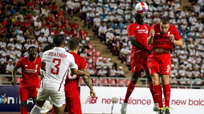 Liverpool Menang 4-0 di Thailand
