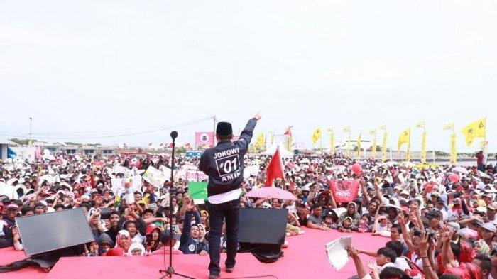 Setelah mendampingi kampanye Capres 01 Joko Widodo (Jokowi) di Tegal, Brebes, Losari Cirebon dan Indramayu, Direktur Relawan TKN Jokowi-Ma'ruf Amin, Kiai Maman Imanul Haq melakukan safari ke beberapa pondok pesantren di Jawa Barat, Sabtu (6/4/2019) hingga Minggu (7/4/2019).
