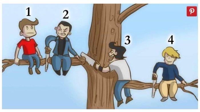 Tes Kepribadian - Menurutmu Mana yang Paling Bodoh dari 4 Orang Ini? Jawabanmu Cerminkan Karaktermu
