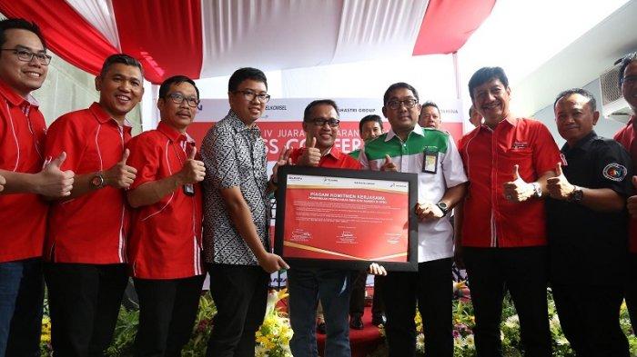 Telkomsel dan Pertamina Kerjasama Pembayaran Digital TCASH di SPBU se-Jateng dan DIY