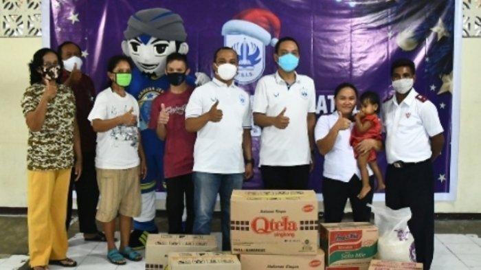 Manajemen PSIS Semarang Sambut Hari Nataru dengan Berbagi di Panti Asuhan Betlehem