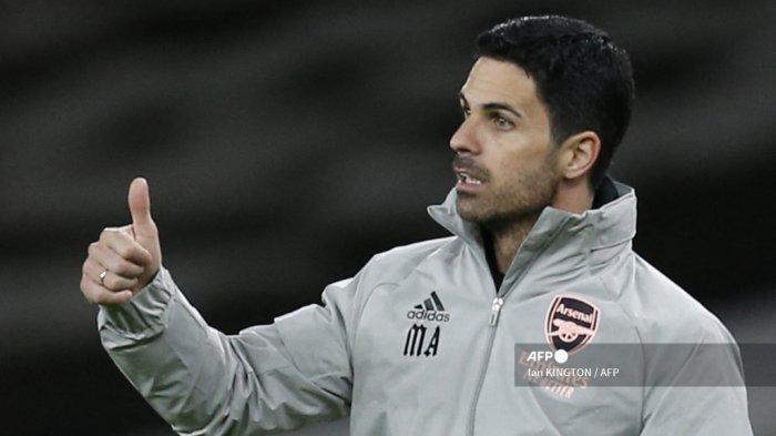 Komentar Mikel Arteta seusai Arsenal Tampil Kejam Singkirkan Slavia Praha dari Liga Eropa