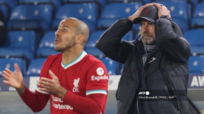 HASIL Liga Inggris - Liverpool Gagal Menang, Klopp Masih Semangat Perjuangkan Zona Liga Champions