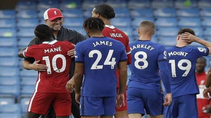 JADWAL Liga Inggris Malam Ini Liverpool vs Chelsea dan Live Streaming Mola TV Nonton di HP